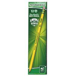 Dixon Ticonderoga #2 Pencils Pre Sharpened 1 Dozen By Dixon Ticonderoga