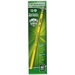 Ticonderoga Pencil No 2 Soft By Dixon Ticonderoga