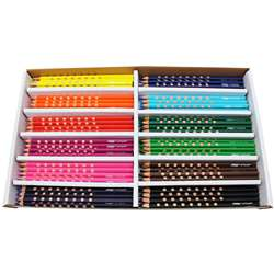 Prang Groove Colored Pencils 144 Ct, DIX28144