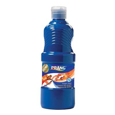Prang Washable Finger Paint 16 Oz Blue By Dixon Ticonderoga