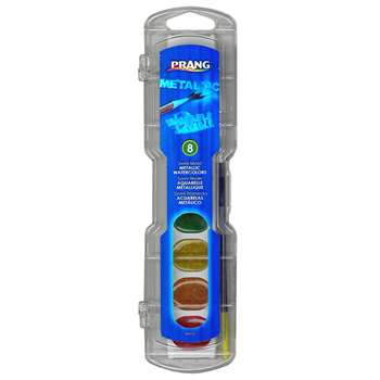 Prang Watercolor Masterpk Metallic Colors 8 Count By Dixon Ticonderoga