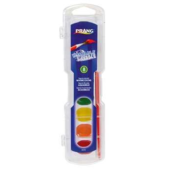 Prang Washable Water Colors 8 Color Set By Dixon Ticonderoga