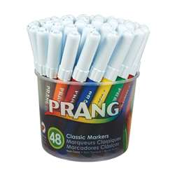 Prang Art Markers Washable 48 Colors By Dixon Ticonderoga