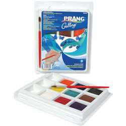 Prang Gallery Tempera Cake Set By Dixon Ticonderoga