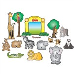 Zoo Friends Bulletin Board Set By Carson Dellosa
