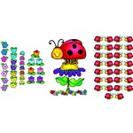 Ladybugs Bulletin Board Set By Carson Dellosa