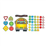 School Bus Bulletin Board Set By Carson Dellosa