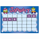 D J Kids Calendar Kit Bulletin Board Set By Carson Dellosa