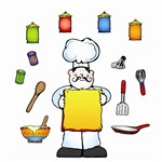 Whats Cooking Bulletin Board Set By Carson Dellosa
