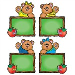 Chalkboard Bears Cut-Outs - Assorte By Carson Dellosa