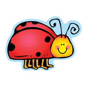 Colorful Cut Outs Ladybugs Assorted Designs By Carson Dellosa
