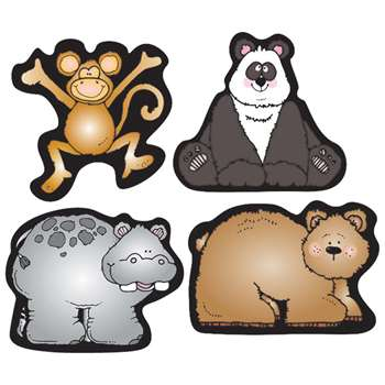 Zoo Friends Shape Stickers By Carson Dellosa