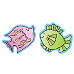 Fish Stickers 20 Per Sheet By Carson Dellosa