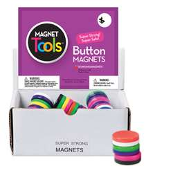 Button Magnet Display 40 Pieces By Dowling Magnets