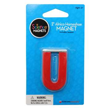 Magnet Alnico Horseshoe 2 Inch By Dowling Magnets