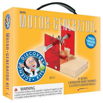 Science Set Motor/Generator By Dowling Magnets