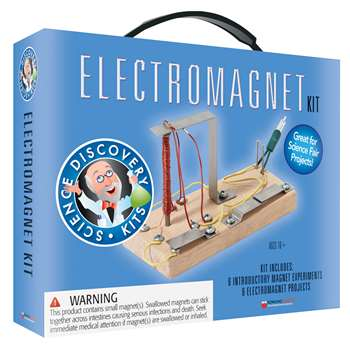 Science Set Electromagnetic 10 Yr + By Dowling Magnets