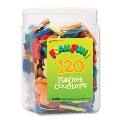 Foam Fun Magnet Counters By Dowling Magnets