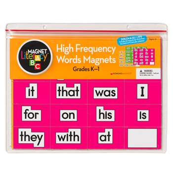 Magnet Literacy High Frequency Word Magnets Gr K-1 By Dowling Magnets