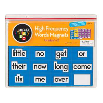 Magnet Literacy High Frequency Word Magnets Gr 1-2 By Dowling Magnets