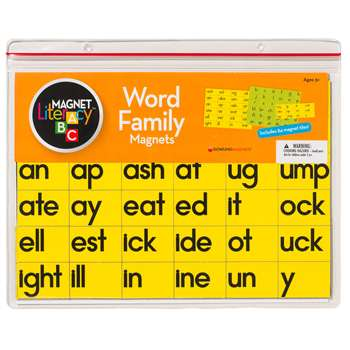 Magnet Literacy Word Family Magnets By Dowling Magnets