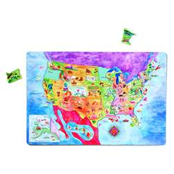 Geopuzzle Magnetic Usa Map By Dowling Magnets