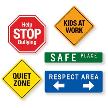 School Signs Magnet Set, DO-735210