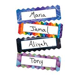 Zigzag & Lighting Magnetic Name Plates, DO-735215