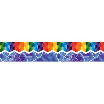 Zigzag & Lighting Magnetic Borders 12St, DO-735300
