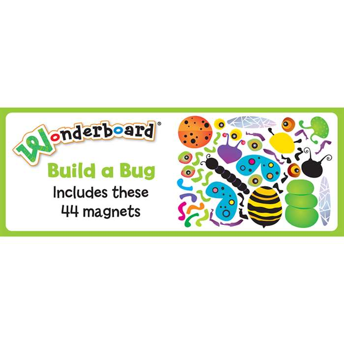 Wonderboard Build-A-Bug By Dowling Magnets