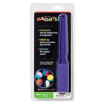 Magnet Wand And 5 Magnet Marble By Dowling Magnets