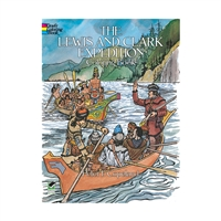 The Lewis And Clark Expedition Historical Coloring, DP-245578