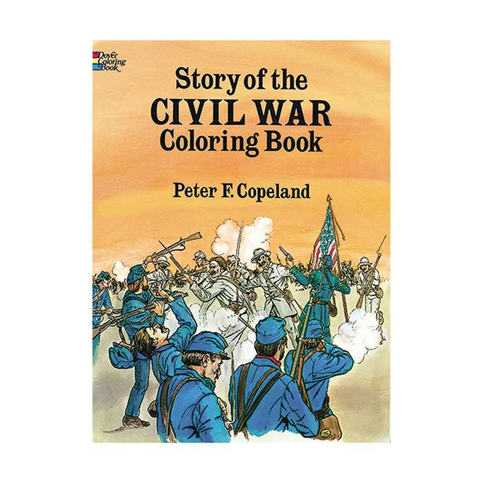 The Story Of The Civil War Historical Coloring Boo, DP-265323