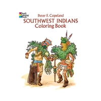 Southwest Indians Historical Coloring Book, DP-279642
