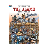 The Story Of The Alamo Historical Coloring Books, DP-444597