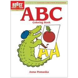 Shop Boost Abc Coloring Book Gr Pk-K - Dp-493962 By Dover Publications