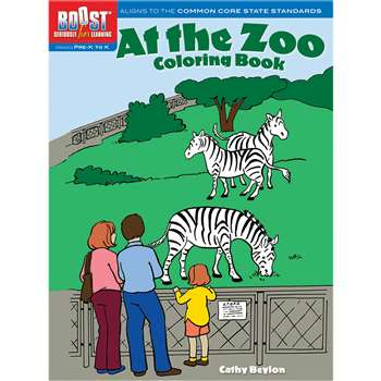 Shop Boost At The Zoo Coloring Book Gr Pk-K - Dp-493989 By Dover Publications