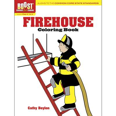 Shop Boost Firehouse Coloring Book Gr Pk-K - Dp-493997 By Dover Publications