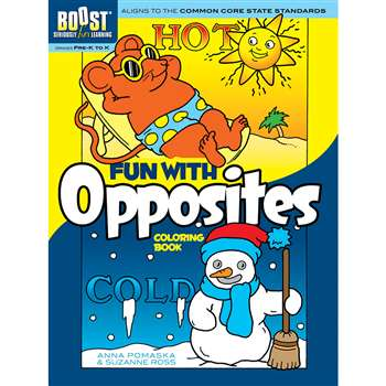 Shop Boost Fun With Opposites Coloring Book Gr Pk-K - Dp-494004 By Dover Publications