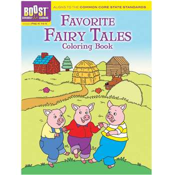 Shop Boost Favorite Fairy Tales Coloring Book Gr Pk-K - Dp-494039 By Dover Publications