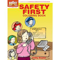 Shop Boost Safety First Coloring Book Gr Pk-K - Dp-494047 By Dover Publications