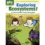 Shop Boost Exploring Ecosystems An Environmentally Friendly Coloring - Dp-494055 By Dover Publications