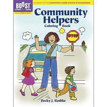 Shop Boost Community Helpers Coloring Book Gr Pk-K - Dp-494071 By Dover Publications