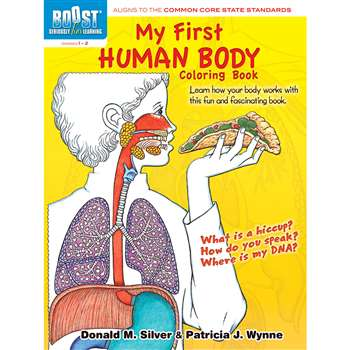 Shop Boost My First Human Body Coloring Book Gr 1-2 - Dp-494101 By Dover Publications