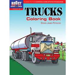 Shop Boost Trucks Coloring Book Gr 1-2 - Dp-49411X By Dover Publications