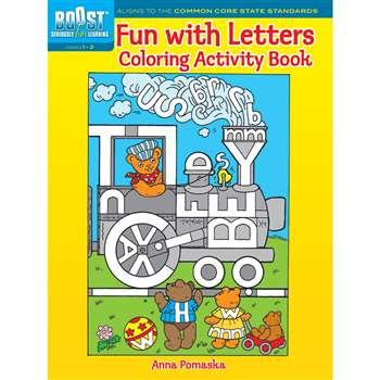 Shop Boost Fun With Letters Coloring Activity Book Gr 1-2 - Dp-494128 By Dover Publications