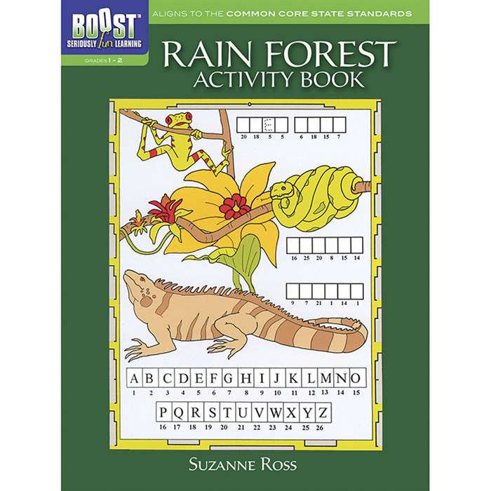 Shop Boost Rain Forest Activity Book Gr 1-2 - Dp-494136 By Dover Publications