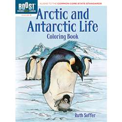 Shop Boost Arctic And Antarctic Life Coloring Book - Dp-494306 By Dover Publications