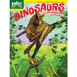 Shop Boost Dinosaurs Of The Jurassic Era Coloring Book - Dp-494314 By Dover Publications