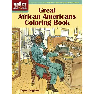 Shop Boost Great African Americans Coloring Book - Dp-494349 By Dover Publications